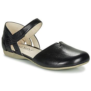 Čevlji  Ženske Sandali & Odprti čevlji Josef Seibel fiona67 Črna