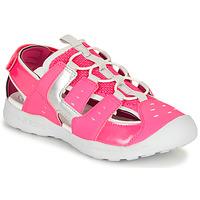 Čevlji  Deklice Športni sandali Geox J VANIETT GIRL Rožnata / Srebrna