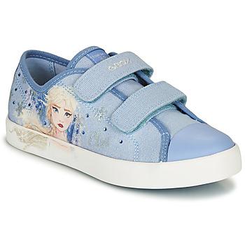 Čevlji  Deklice Nizke superge Geox JR CIAK GIRL Modra