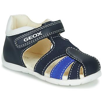 Čevlji  Dečki Sandali & Odprti čevlji Geox B ELTHAN BOY Bela