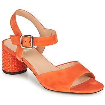 Čevlji  Ženske Sandali & Odprti čevlji Geox D ORTENSIA MID SANDA Oranžna
