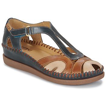 Čevlji  Ženske Sandali & Odprti čevlji Pikolinos CADAQUES W8K Modra / Kamel