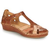 Čevlji  Ženske Balerinke Pikolinos P. VALLARTA 655 Cognac / Kamel
