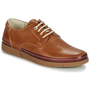 Čevlji  Moški Čevlji Derby Pikolinos PALAMOS M0R Kostanjeva
