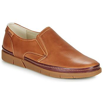 Čevlji  Moški Mokasini Pikolinos PALAMOS M0R Kamel