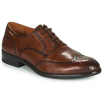 Čevlji  Moški Čevlji Derby Pikolinos BRISTOL M7J Kostanjeva