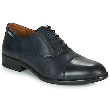 Čevlji  Moški Čevlji Derby Pikolinos BRISTOL M7J Modra