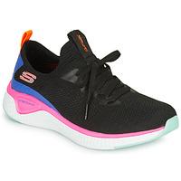 Čevlji  Ženske Fitnes / Trening Skechers SOLAR FUSE Črna / Rožnata / Modra