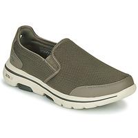 Čevlji  Moški Slips on Skechers GO WALK 5 Kaki
