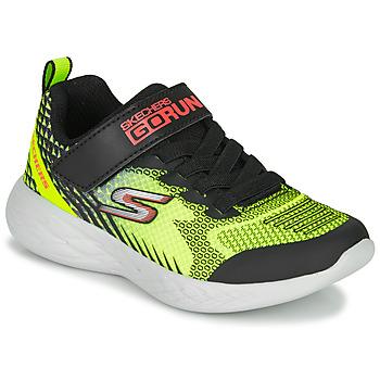 Čevlji  Dečki Šport Skechers GO RUN 600 BAXTUX Črna / Rumena