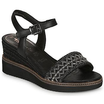 Čevlji  Ženske Sandali & Odprti čevlji Tamaris ALIS Črna