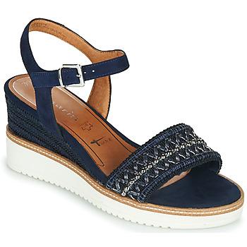Čevlji  Ženske Sandali & Odprti čevlji Tamaris ALIS Modra