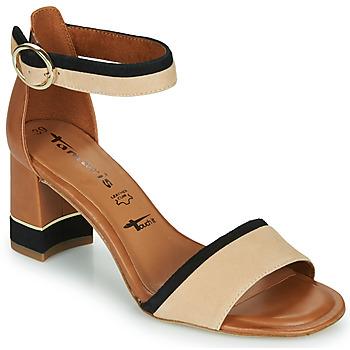 Čevlji  Ženske Sandali & Odprti čevlji Tamaris DALINA Cognac