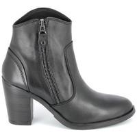 Čevlji  Ženske Gležnjarji Porronet Boots Acap Noir Črna