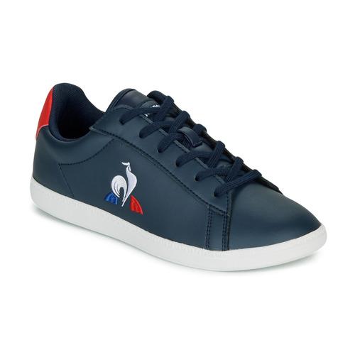 Čevlji  Otroci Nizke superge Le Coq Sportif COURTSET GS Rdeča