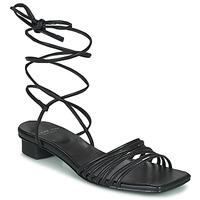 Čevlji  Ženske Sandali & Odprti čevlji Vagabond Shoemakers ANNI Črna