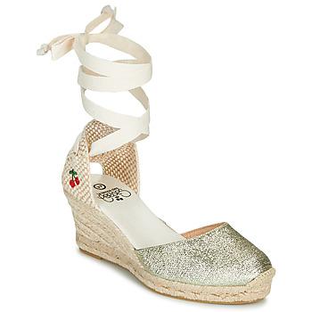 Čevlji  Ženske Sandali & Odprti čevlji Le Temps des Cerises POLY Pozlačena
