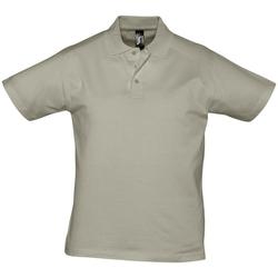 Oblačila Moški Polo majice kratki rokavi Sols PRESCOTT CASUAL DAY Beige