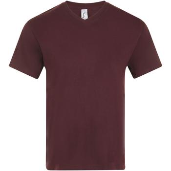 Oblačila Moški Majice s kratkimi rokavi Sols VICTORY COLORS Violeta