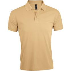Oblačila Moški Polo majice kratki rokavi Sols PRIME ELEGANT MEN Marrón