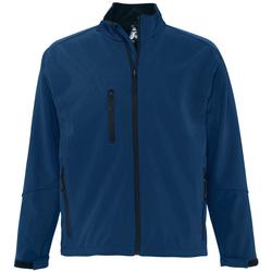 Oblačila Moški Jakne Sols RELAX SOFTSHELL Azul