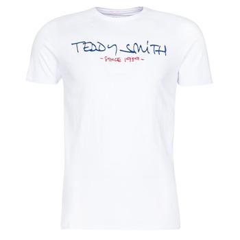 Oblačila Moški Majice s kratkimi rokavi Teddy Smith TICLASS Bela