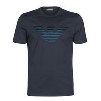 Oblačila Moški Majice s kratkimi rokavi Emporio Armani DOUNIA Modra