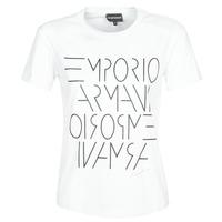 Oblačila Ženske Majice s kratkimi rokavi Emporio Armani DONOVANN Bela