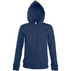 Oblačila Ženske Športne jope in jakne Sols SEVEN KANGAROO WOMEN Azul