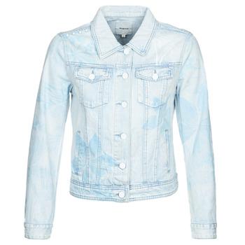 Oblačila Ženske Jeans jakne Desigual WHAII Modra