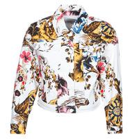 Oblačila Ženske Jeans jakne Desigual FANTASY Večbarvna