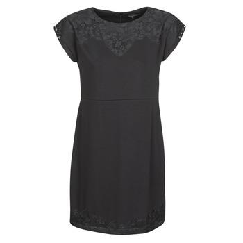 Oblačila Ženske Kratke obleke Desigual BANQUET Črna