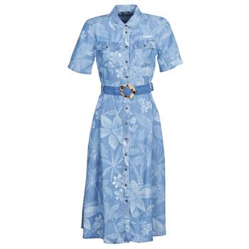 Oblačila Ženske Dolge obleke Desigual KATE Modra