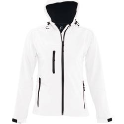 Oblačila Moški Športne jope in jakne Sols REPLAY WOMEN STYLE Blanco