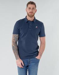 Oblačila Moški Polo majice kratki rokavi Le Coq Sportif ESS POLO SS N°2 M Modra