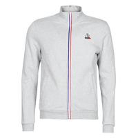 Oblačila Moški Športne jope in jakne Le Coq Sportif ESS FZ Sweat N°2 M Siva / Sepraný