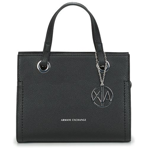 Torbice Ženske Ročne torbice Armani Exchange MEYLANI Črna
