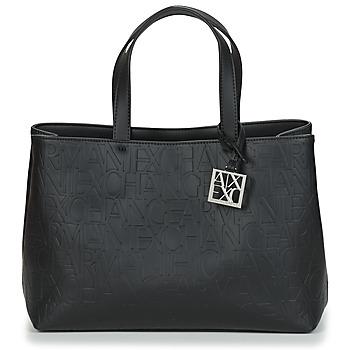 Torbice Ženske Ročne torbice Armani Exchange MANI Črna