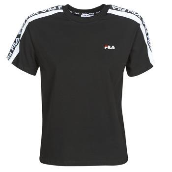 Oblačila Ženske Majice s kratkimi rokavi Fila TANDY Črna