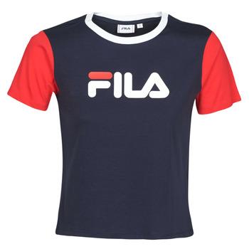 Oblačila Ženske Majice s kratkimi rokavi Fila SALOME Rdeča