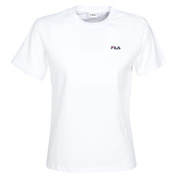 Oblačila Ženske Majice s kratkimi rokavi Fila EARA Bela
