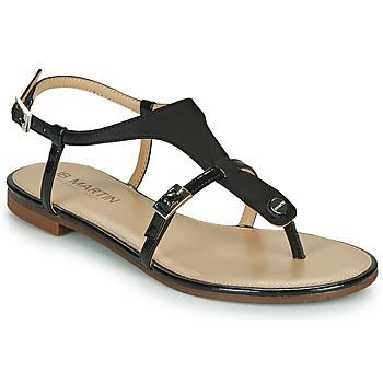 Čevlji  Ženske Sandali & Odprti čevlji JB Martin 2GAELIA Črna