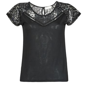 Oblačila Ženske Majice s kratkimi rokavi Deeluxe CLEA Črna