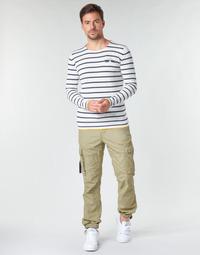 Oblačila Moški Hlače cargo Deeluxe TROPERY Kaki
