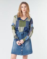 Oblačila Ženske Topi & Bluze Cream CLODIE Modra