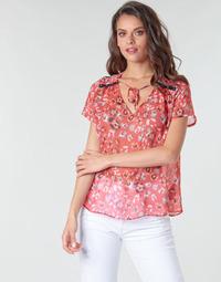 Oblačila Ženske Topi & Bluze Ikks BQ11145-37 Oranžna