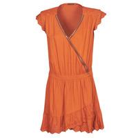 Oblačila Ženske Kratke obleke Ikks BQ30155-75 Oranžna