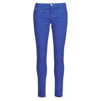 Oblačila Ženske Hlače s 5 žepi One Step LE JUDY Modra