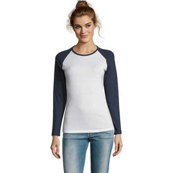 Oblačila Ženske Majice z dolgimi rokavi Sols MILKY LSL SPORT Multicolor