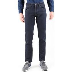 Oblačila Moški Jeans straight Wrangler Greensborg W15QBR77S Navy blue